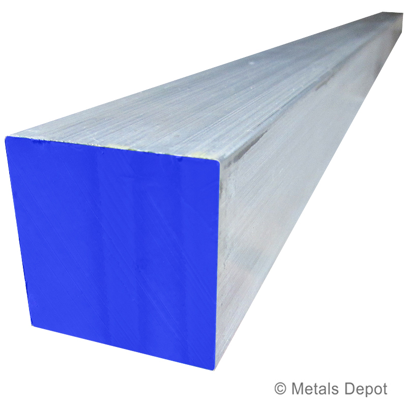 Aluminum Square Bar - 6061