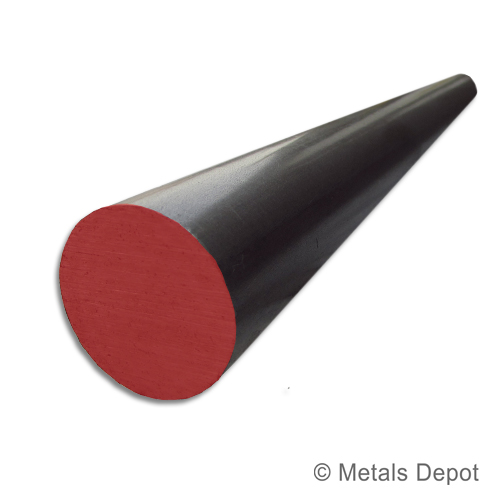 """11//16/"""" Diameter 1018 Cold Finished Steel Round Bar x 24/"""" Long"""