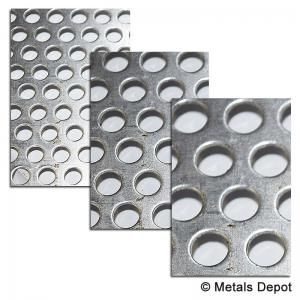 Metalsdepot Perforated Aluminum Sheet