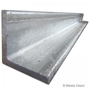 "4/"" x 4/"" x 6/"" x 1//4/"" ANGLE IRON ZINC COATED"