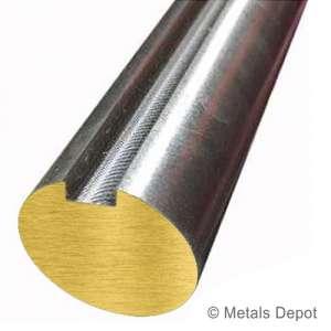 KEYSHAFT Carbon Steel Grade 1045 Keyed Shaft,3//4 Diameter,3//16 x 3//32 Keyway,6 Length