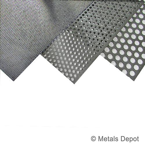 Metalsdepot Buy Perforated Steel Sheet Online