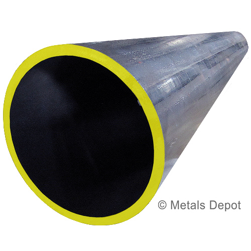 "1-1//2/"" A500 Bare Carbon Steel Schedule 40 Pipe x 36/"" Long"