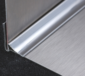 Stainless Angle Trim Inside Corner 96 Quot Long