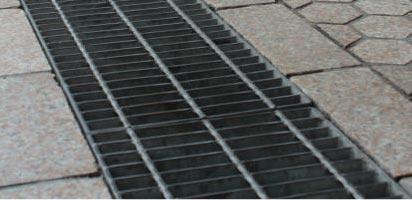 Metals Depot 174 Steel Driveway Drain Grate 1 X 6 Inch