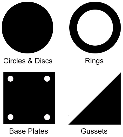Steel - Circles, Rings, Gussets